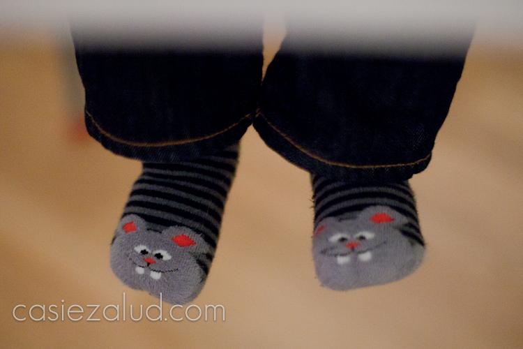 Swedish child's socks