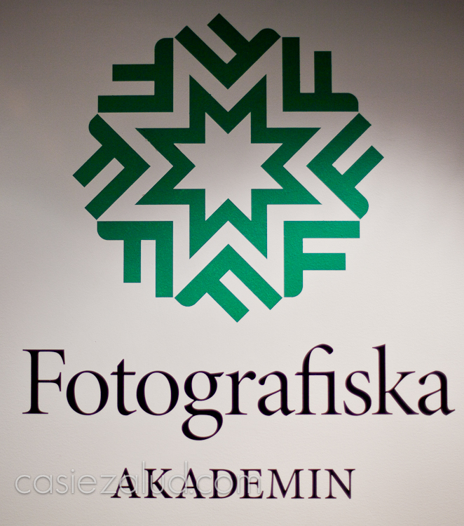 logo and sign from Fotografiska in Stockholm