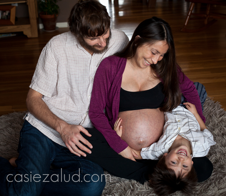 maternity family portraits