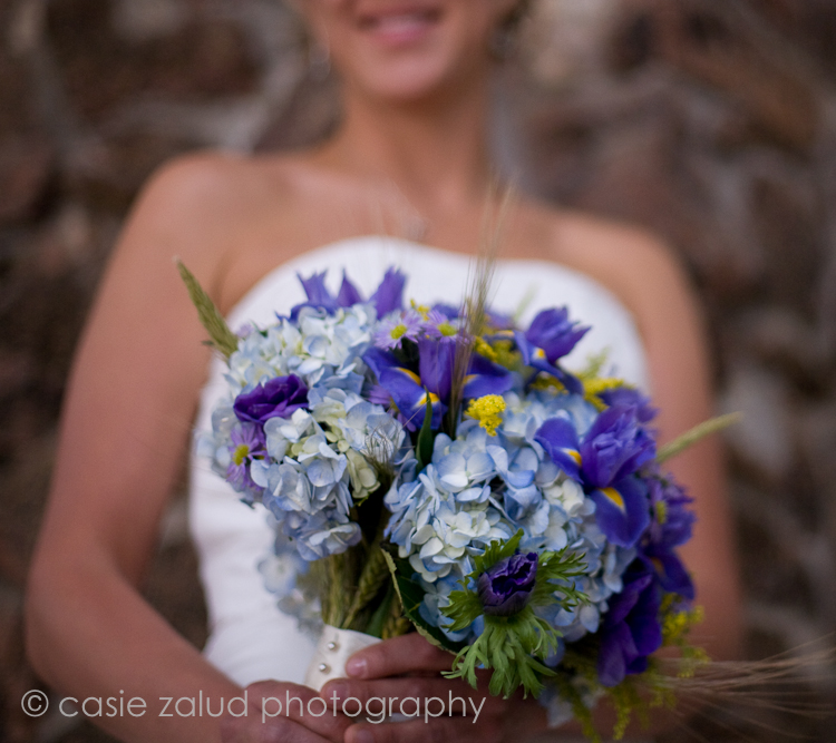 colorado mountain wedding bouquet