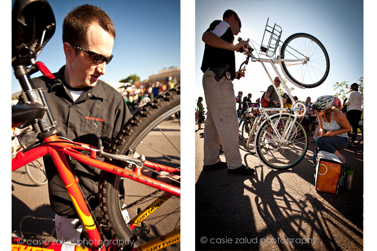 Boulder Event Photography - Bike to Work Day