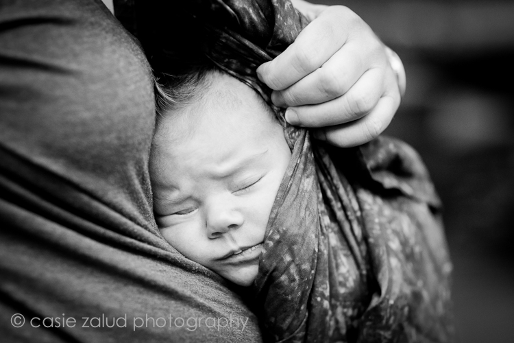 Boulder Family Portrait Photographer - Newborn Portraits - Casie Zalud Photography