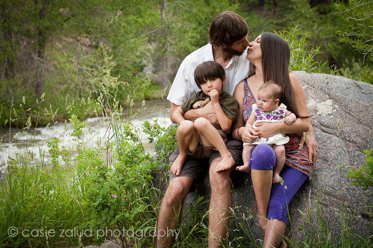 Boulder Family Portrait Photography - Casie Zalud Photography