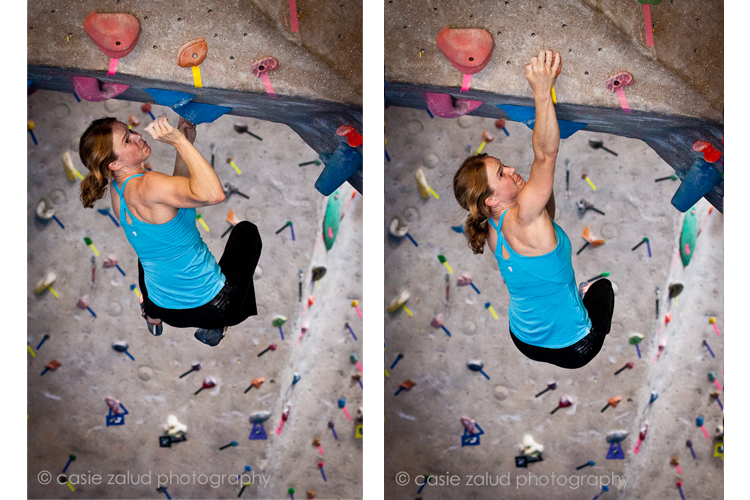 Women's Adventure - Climber Angie Payne - Boulder Rock Club