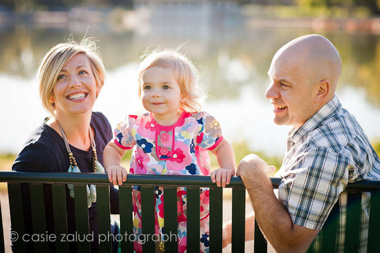 Denver Family Portrait Photography - Washington Park - Casie Zalud Photography