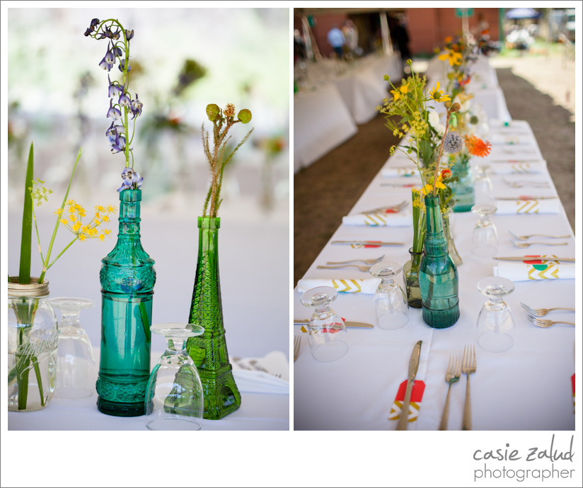 Alfresco Anthropologie Wedding - Casie Zalud Photographer