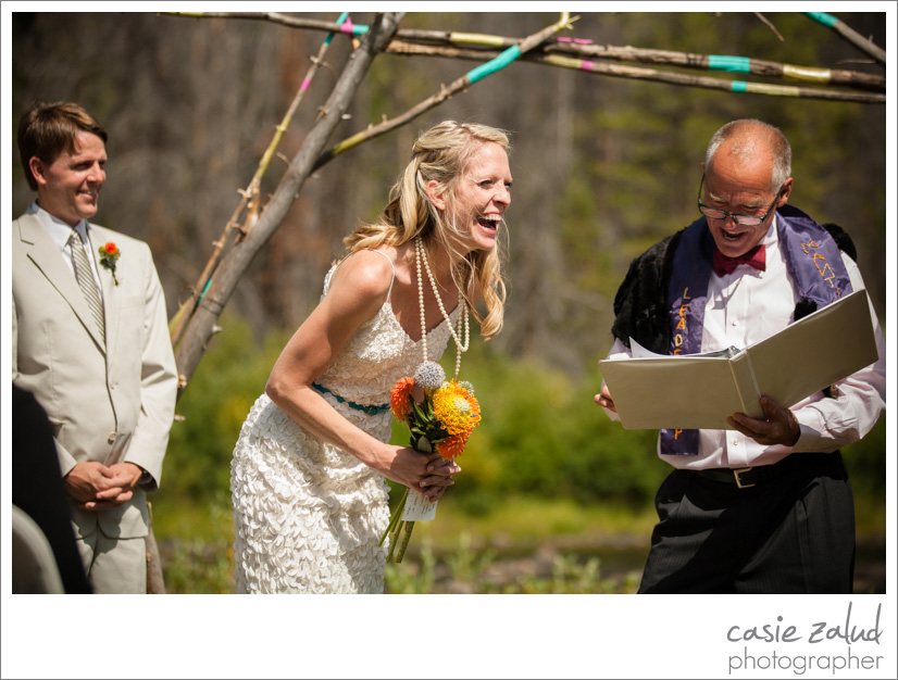 Grand Lake Wedding Photographer - Casie Zalud Photographer