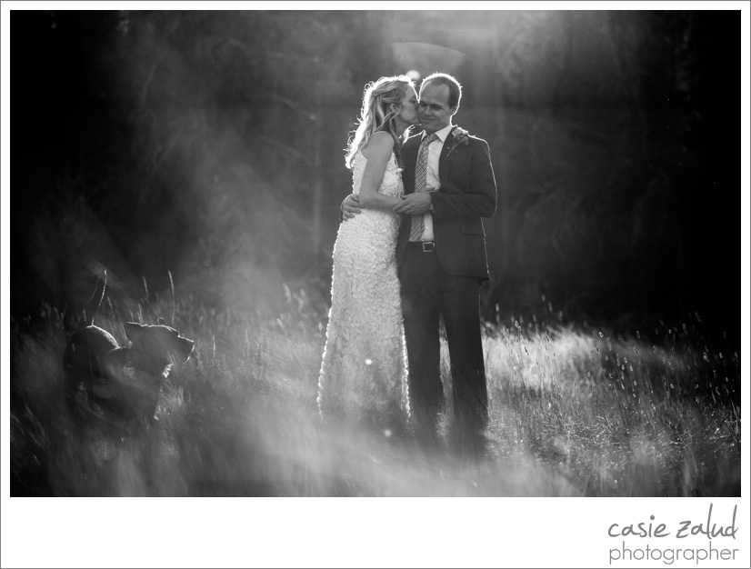 Colorado Outdoor Wedding Photography - Casie Zalud Photographer