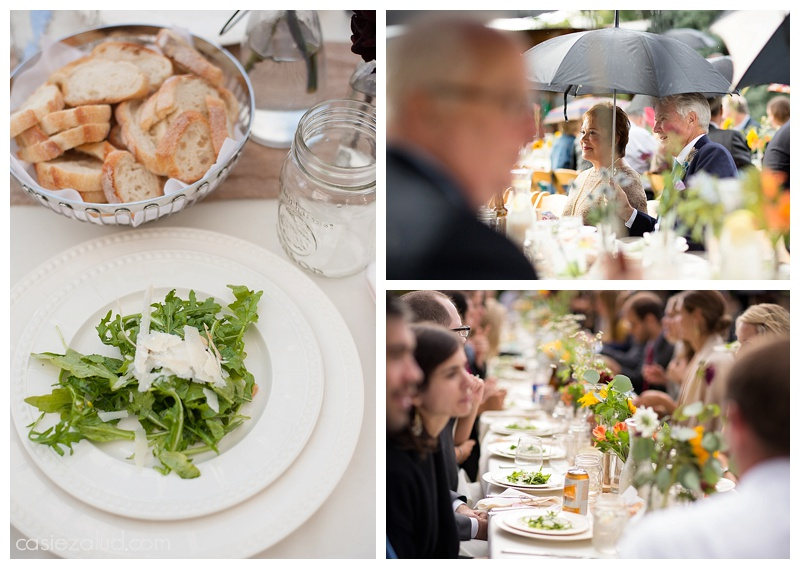Alfresco Wedding, Big Bang Catering - The Lyons Farmette - alfresco dinning