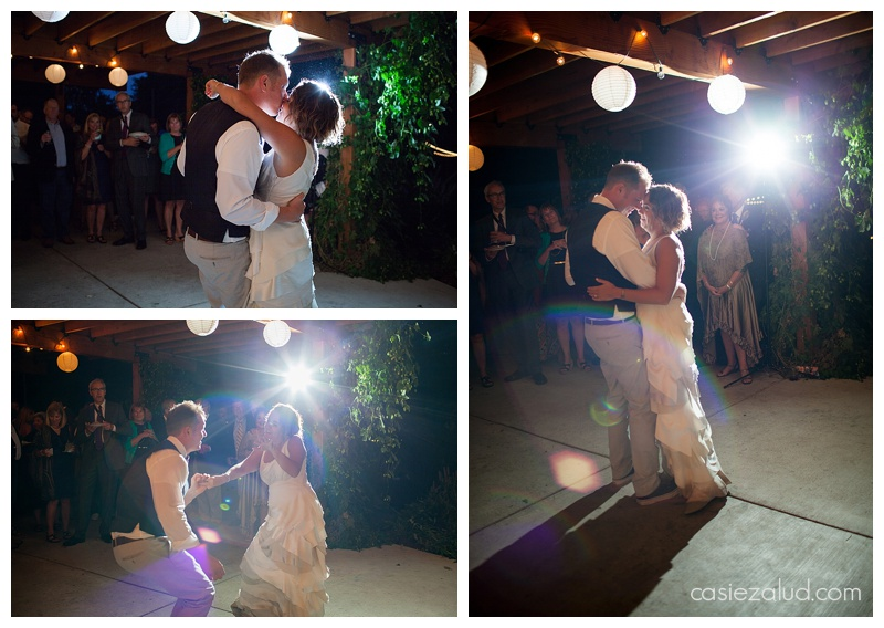 Intimate First Wedding Dance - The Lyons Farmette