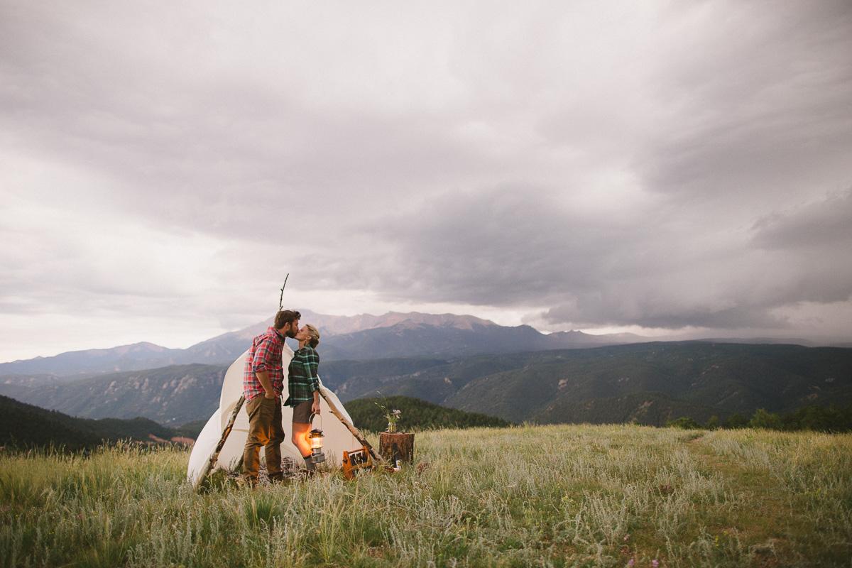 Boulder, CO Mountain Enagement Photographer