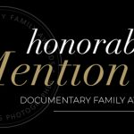 honourable mention Documentary Family Award 2017 Winner Casie Zalud