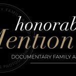 honourable mention Documentary Family Award 2017 Winner Casie Zalud